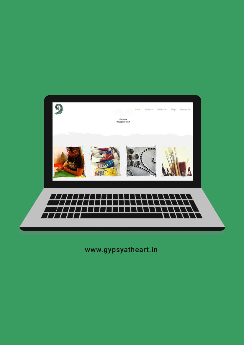 Gypsy At Heart - Website