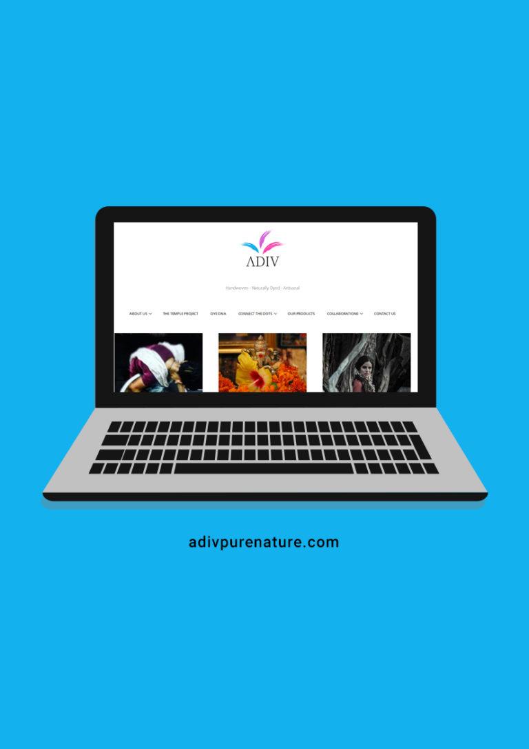 ADIV Pure Nature Website