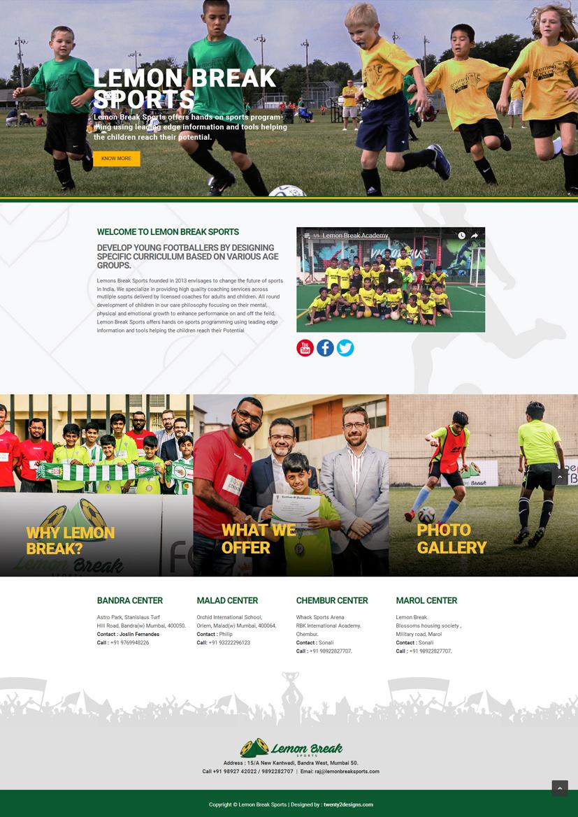 Lemon Breask Sports Academy