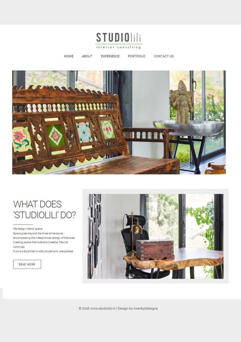StudioLili - Website